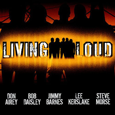 Living Loud studio CD.